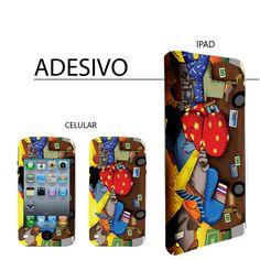 Ilustração elaborada para aplicação em capa de celular e Ipad.