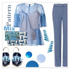 """""""It's in the mix"""" by sunnydays4everkh ❤ liked on Polyvore featuring STELLA McCARTNEY, Miu Miu, Anya Hindmarch, Loewe and Gucci"""