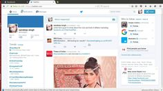 how to promote facebook page on twitter