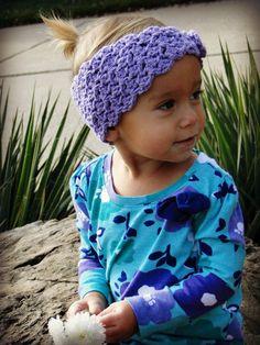 Cute crochet headband