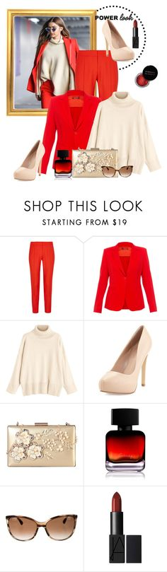 """""""Power Look #1"""" by lyric0ne-designs ❤ liked on Polyvore featuring STELLA McCARTNEY, MaxMara, Charles David, Rimen & Co., Concrete Minerals, The Collection by Phuong Dang, Chanel, girlpower and powerlook"""