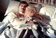 Doctor Zhivago It has been 50 years since we thronged to see the epic film based on Boris Pasternak's novel, but who can forget Omar Sharif and Julie Christie's retreat to the winter ice palace? ~ Great Love Stories for the Ages