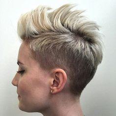 Spiky Pixie Cut