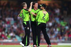 Celebrating a big wicket - vs Sydney Sixers #BigSydDerby