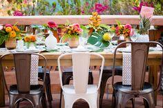 Photography: http://acquaphoto.com   Event planning: http://amorologyweddings.com   Event design: http://amorologyweddings.com   Floral design: http://jldesignsandevents.com   Read More: https://www.stylemepretty.com/2014/12/03/retro-island-inspired-hawaii-wedding/
