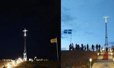 Ένας μεγάλος Σταυρός στα σύνορα στον Έβρο-Ορατός μέχρι Τουρκία! Cn Tower, Building, Travel, Viajes, Buildings, Destinations, Traveling, Trips, Construction
