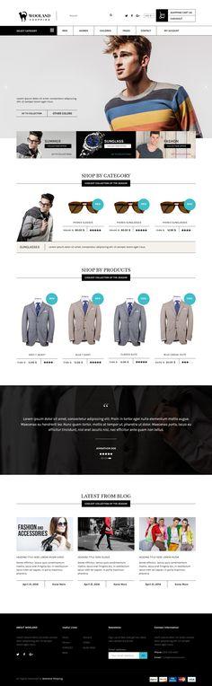 #Wooland #Woocommerce #WordPress theme for online store