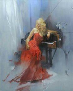 «Crimson Sonata», Richard S. Johnson (1953)