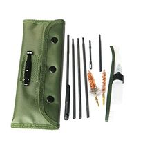 Features: This is a 10 piece rifle cleaning kit for the .22LR .223 .257 etc. Anything that is .20-.25 caliber can be cleaned with this kit. This kit includes a .22 cal brass brush a .22 cal chamb...