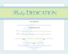Baby Blessing Certificate Template Best Of Baby Dedication Certificate Template Free Printable Certificate Templates, Certificate Design Template, Free Printables, Templates Free, Attendance Sheet Template, Baby Dedication Certificate, Certificate Maker, Baby Blessing