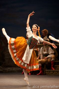 "Shiori Kase as ""Swanilda"", ""Coppelia"", English National Ballet   [sleeve]"
