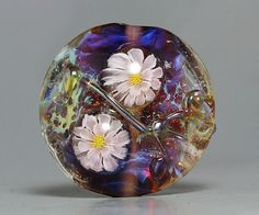 Handmade Lampwork focal Bead by Ikuyo SRA by ikuyoglassart on Etsy, $35.00