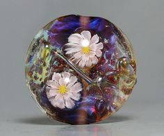 Handmade Lampwork focal Bead by Ikuyo SRA by ikuyoglassart on Etsy, $35.00