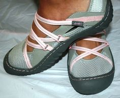 pink water shoes womens | ... 41 GENESIS VEGAN Women's Mary Jane TRAIL HIKING WATER Shoes Gray Pink