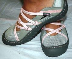 pink water shoes womens | ... 41 GENESIS VEGAN Women's Mary Jane TRAIL HIKING WATER Shoes Gray Pink