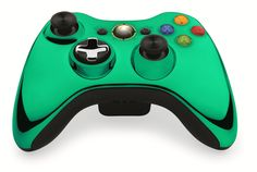 Custom Xbox 360 Controller Wireless Glossy Mint Green- Without Mods