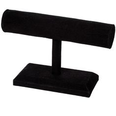 <div>Dramatically display necklaces and bracelets on this elegant black velvet stand! Ideal for ...