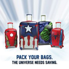 Travel like a superhero. Click to shop our brand-new Marvel collection.