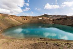 Viti Kratersee in der Nähe des Krafla-Kraftwerks © www.moosearoundtheworld.de