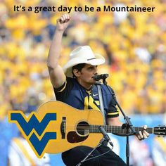 It's a great day to be a Mountaineer Country Roads, Morgantown WV West Virginia Colleges, West Virginia History, West Virginia University, Wv Football, Mountaineers Football, College Football, Virginia Hill, Virginia Homes, Country Music