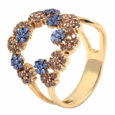 Inel aur unicat :: Inele Product Description, Brooch, Engagement Rings, Jewels, Fashion, Home, Enagement Rings, Moda, Wedding Rings