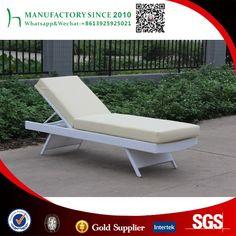 Comercio al por mayor al aire libre tumbona sillón apilable de China fabricante
