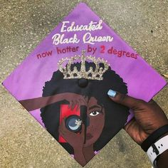 Black graduates did not hold back with bringing the Black Girl Magic and Black Boy Joy to their grad caps this year. From celeb inspired styles to salutes to school spirit, the class of 2017 did not disappoint. Graduation Party Desserts, Graduation Cap Toppers, Graduation Cap Designs, Graduation Cap Decoration, Graduation Diy, Graduation Pictures, Graduation Outfits, Nursing Graduation, Grad Pics