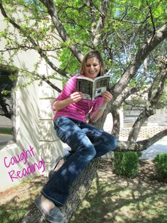 Chrystal has been Caught Reading!