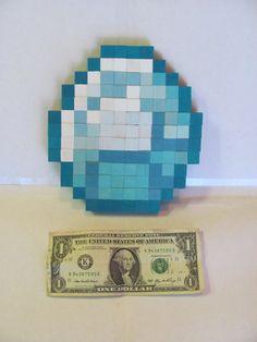 Minecraft Diamond 8Bit Wall Decor by BitsOfGeekery on Etsy