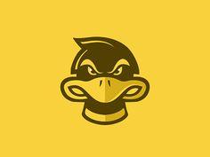 Duck Logo designed by Aoun Raza. I Ped, Chicken Logo, Duck Logo, Passion Project, Kids Logo, Logos, Logo Design, Graphic Design, Disney Characters
