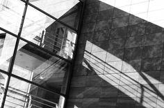 A LOST BUILDING IN PRAGUE #sunnyday #prague #praha #cz republic #canon #7d #architect #architecture #reflection #shadow #windows #facade #building #europe #beautiful #sunlight #light #blackandwhite #blackandwhitephoto #picoftheday #travel #lifeisours...