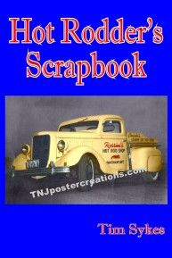 Hot Rodder's Scrapbook book. A collection of hot rod, custom car, drag racing stories.  114 pages and lots of photographs!