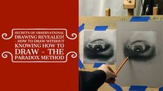 Secrets of Observational Drawing Revealed - How to draw without knowing ... Observational Drawing, Paradox, The Secret, Concept, Drawings, Artwork, Youtube, Movie Posters, Work Of Art