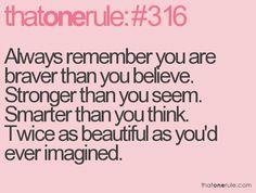..remember.