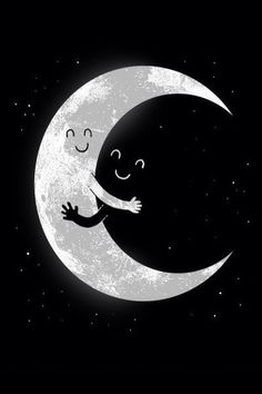 I love you moon I love you night
