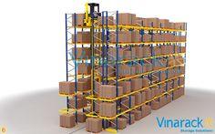 Very Narrow Aisle Racking (VNA) là gì? Floor Space, Wine Rack, In The Heights, Warehouse, Pallet, Website, Storage, Kho Chứa, Deep