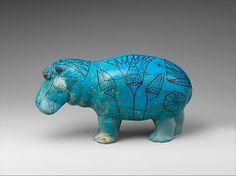 Hippopotamus Period: Middle Kingdom Dynasty: Dynasty 12, first half Reign: Senwosret I to Senwosret II Date: ca. 1961–1878 B.C.