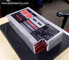 Nintendo Controller Cake