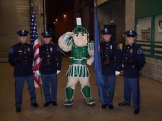 Officer Sparty