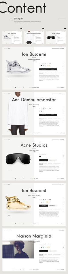 Case Study: MrPorter Product Card Redesign Concept on Web Design Served