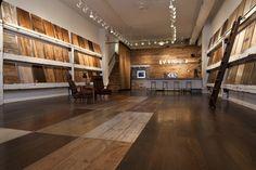 Showroom Interior Design, Tile Showroom, Showroom Ideas, Interior Shop, Shop Interiors, Office Interiors, Fun Office Design, Office Floor Plan, Walnut Floors