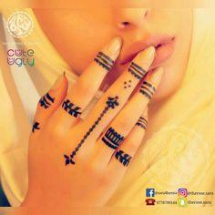 Henna Tattoo Designs Simple, Finger Henna Designs, Mehndi Designs For Beginners, Unique Mehndi Designs, Mehndi Designs For Fingers, Simple Mehndi Designs, Mehndi Designs For Hands, Henne Tattoo, Henna Tattoo Hand