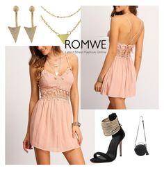 """10#Romwe"" by kiveric-damira ❤ liked on Polyvore"