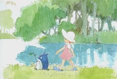Living Lines Library: となりのトトロ / My Neighbor Totoro (1988) - Character Design