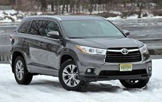 Best Third Row SUV of 2015 Toyota Highlander
