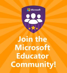 Connect and collaborate, and find development training and classroom lessons with the Microsoft Educator Community, a personalized hub created just for educators. #edtech #MSFTEdu #MIEExper