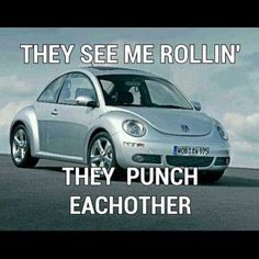 I want to drive one of these just so I can imagine people punching each other everywhere I go! LOL