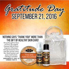 National Gratitude Day!    How do you show gratitude? www.myjestore.com/lizzie