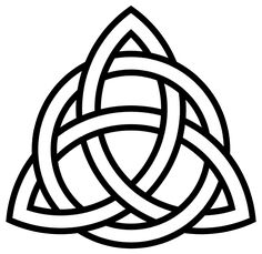Triquetra-circle-interlaced - Triquetra – Wikipedia, wolna encyklopedia