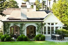 Ivy + Covered Patio